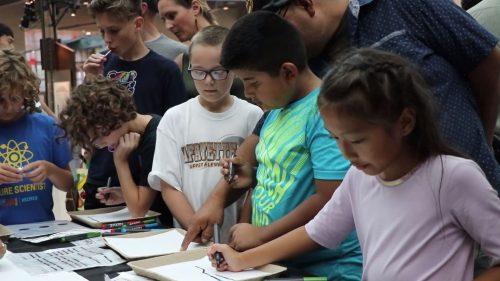 Robotics activities capture attention of local children