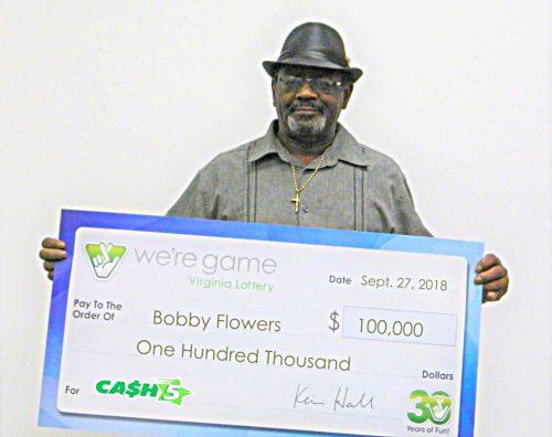 Winning Virginia Lottery ticket purchased in Woodbridge