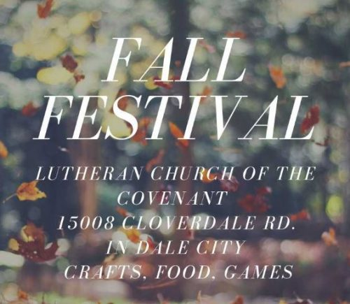 Free Fall Festival will be hosted in Dale City, Oct. 27