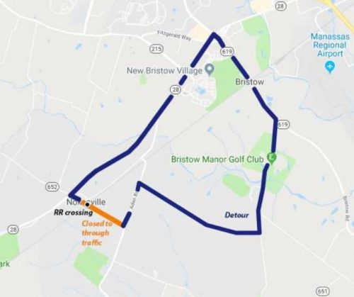 Nokesville road closure slated for Oct. 23