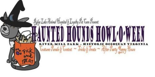 County canines participating in Haunted Hounds Howl-O-Ween, Oct. 28