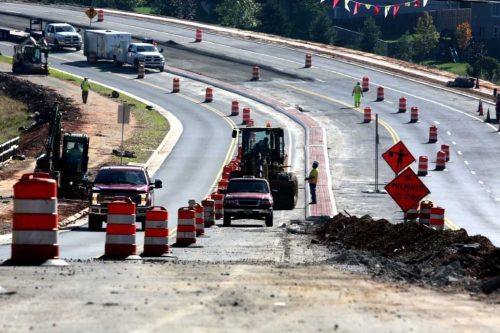Transportation projects ongoing in Prince William County
