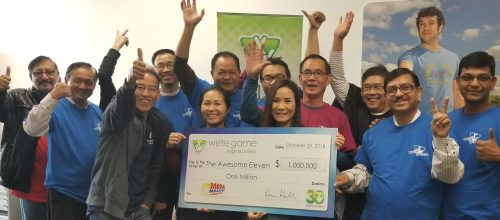 Local group of friends win $1 million from Virginia Lottery