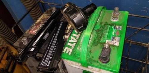 HomeTowne Auto Repair & Tire accepting used batteries