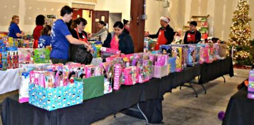 House of Mercy running annual gift giving program