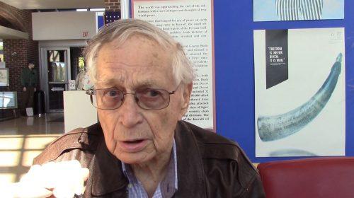 World War II veteran describes experience