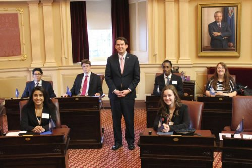 Officials accepting Young Leaders Program applications from students