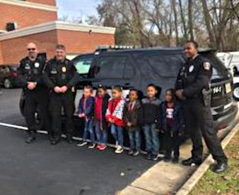 Dumfries Police Department provides meals to families