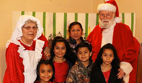 Breakfast with Santa held at Lutheran Church of the Covenant