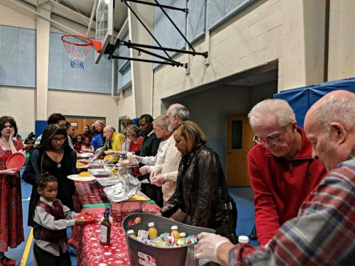Woodbridge Rotary Club hosts Christmas party for youth