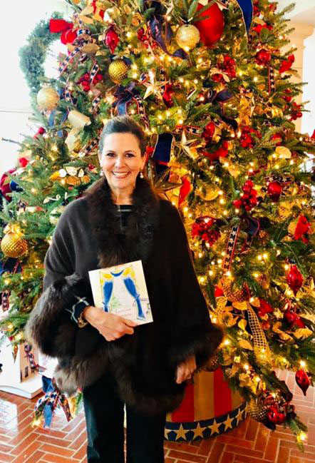 Cotillion chapter director visits the White House