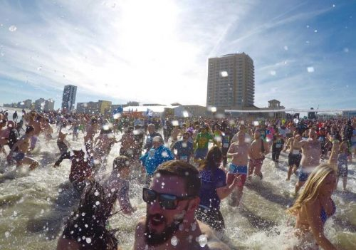 Polar Plunge events raising funds for Special Olympics Virginia