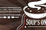 Souper Bowl being held in Manassas, Feb. 1