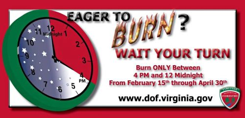 Burn law to take effect in Virginia, Feb. 15