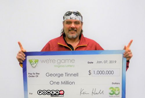 Manassas resident wins $1 million from Virginia Lottery
