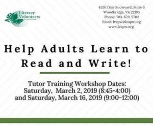 Volunteer Tutor Training