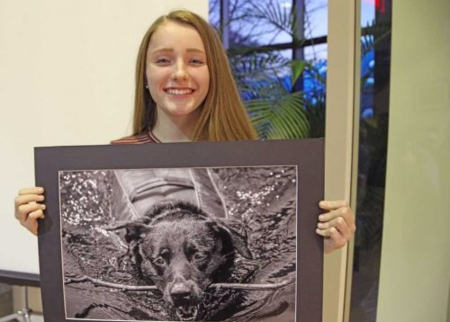 Forest Park High School junior wins Water Art Invitational