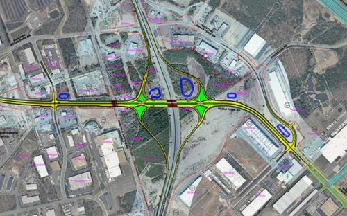 Balls Ford Road Interchange project construction starting in fall