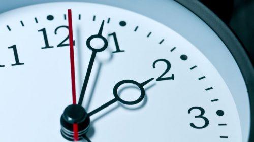 Turn clocks ahead one hour this weekend