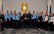 Promotion ceremony hosted by police department