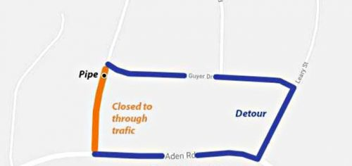 Nokesville road closure scheduled for April 1- 4