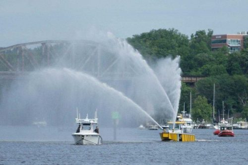 Blessing of the Fleet occurring on Occoquan River