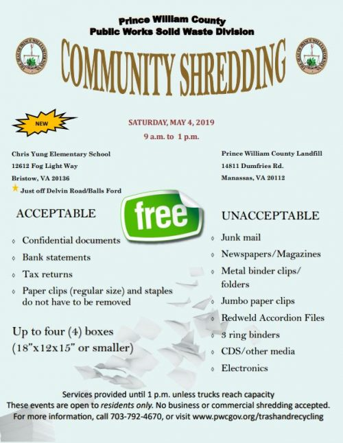 Document Shred Event