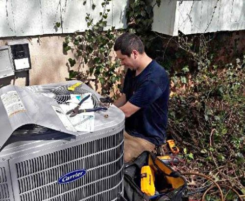 Manassas resident receives free heating and cooling system