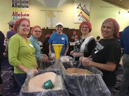Local churches hosting meal packing event, April 27