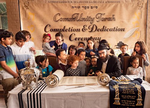 New Torah completed, dedicated in western Prince William County