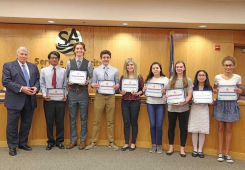 Local students place in regional science fair
