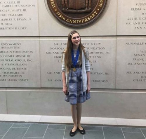 Benton Middle School student to compete in national contest