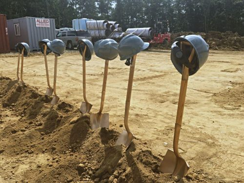 Work begins on county's 13th high school