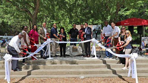 Former Supervisor remembered at park rededication
