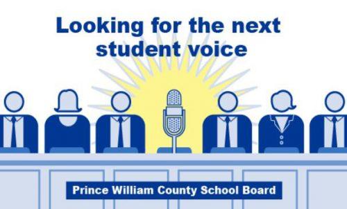 County School Board seeks student representative