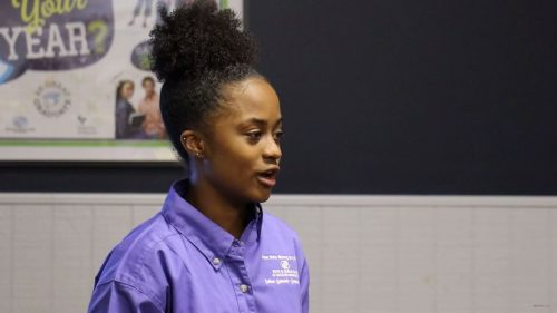 Strong as a Rock: Youth of the Year shares story at Boys and Girls Club