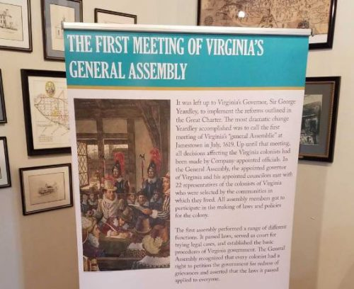 History of Virginia being celebrated in Dumfries