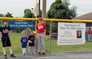 Baseball field named in honor of former Supervisor John Jenkins