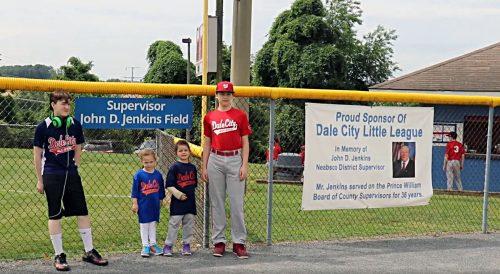 Baseball field named in honor of former Supervisor John Jenkins