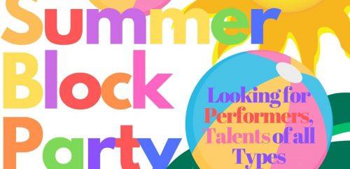 Summer Block Party being held at Manassas Museum