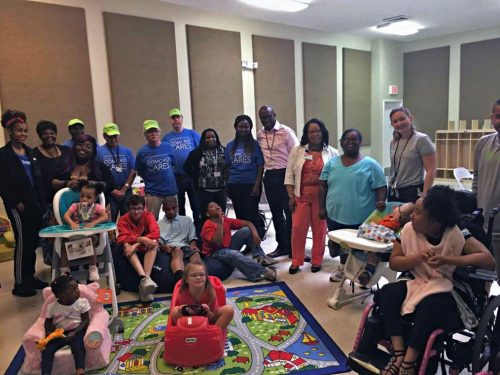 Nursing home donates supplies to The Arc of Greater Prince William