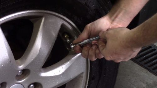 How do I check my tire pressure?