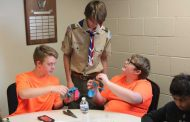 Prosthetic hands created through Eagle Scout project