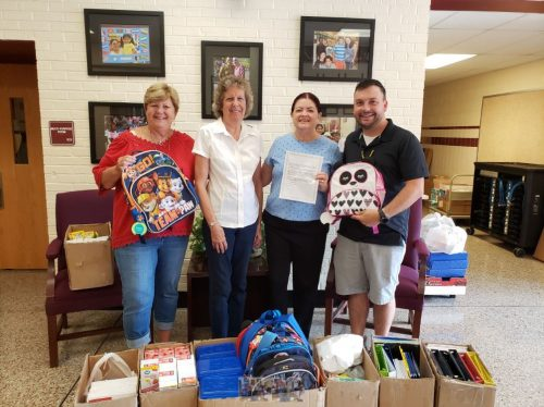 School supply drive supports Dale City Elementary School