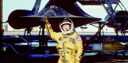 Former Aircraft Commander presenting on SR-71 Blackbird