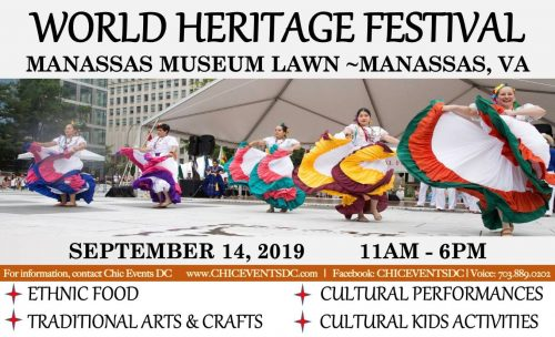 World Heritage Festival taking place on September 14