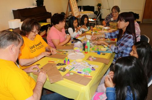 Area churches participate in community service day