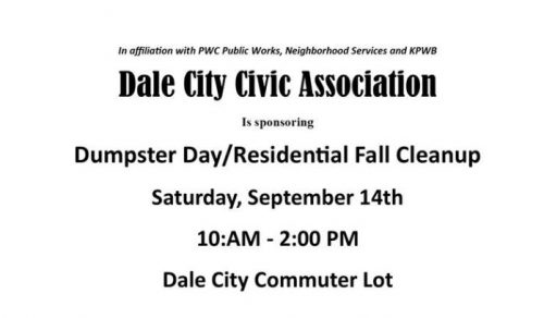 Residential Fall Cleanup scheduled for Sept. 14