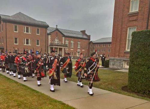 Memorial service remembers fallen firefighters