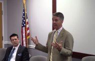 Congressman Rob Wittman speaks in Manassas